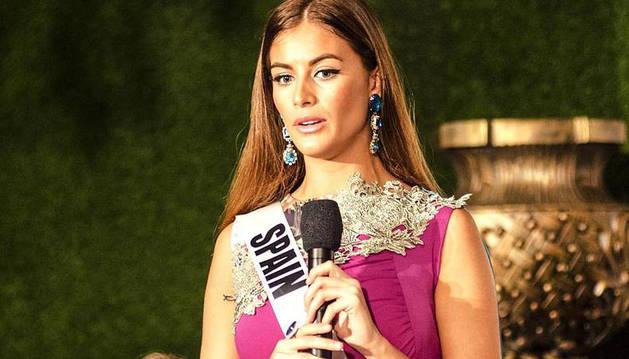 Desiré Cordero, candidata española a Miss Universo