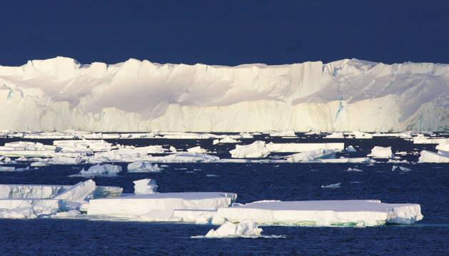 El mayor glaciar de la Antártida oriental.