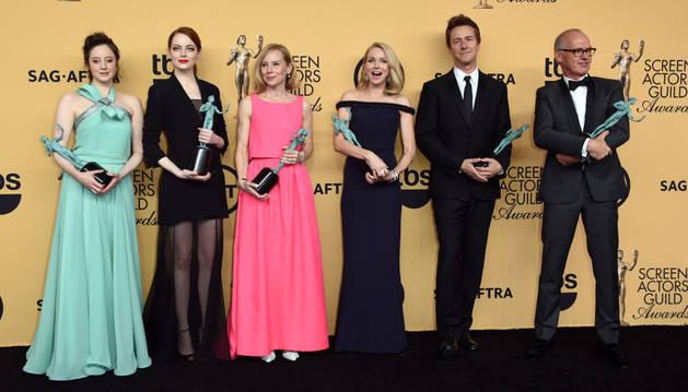 'Birdman', mejor reparto de película en los premios SAG