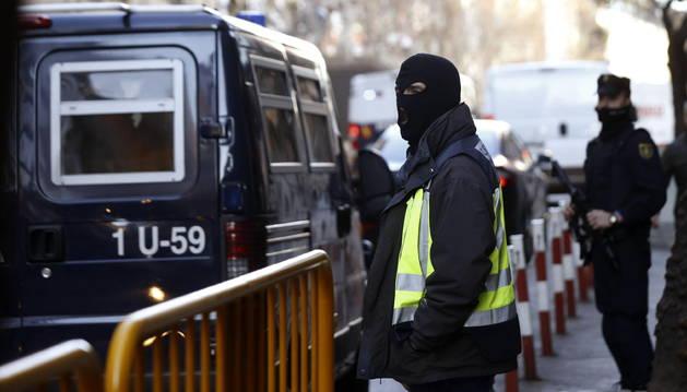 Prisión para 3 de los 4 presuntos yihadistas detenidos en Ceuta