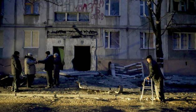Evacuados los cerca de 500 mineros atrapados en una mina de Donetsk