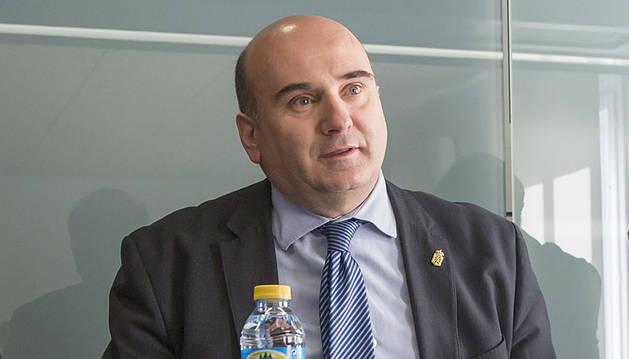 Javier Morrás, consejero de Interior del Gobierno de Navarra