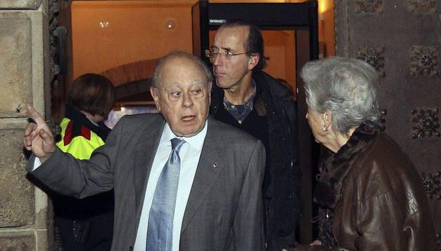 Jordi Pujol, su mujer y tres de sus hijos declaran en el juzgado