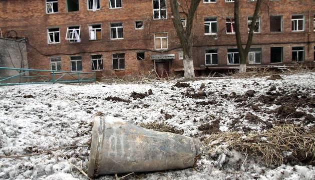 UNICEF denuncia que más de mil niños viven en refugios en Donetsk