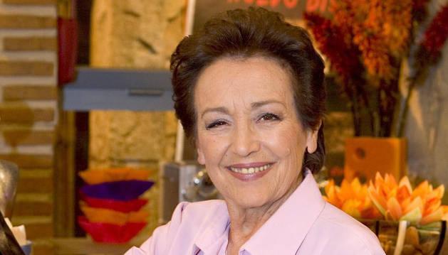 La actriz Amparo Baró.