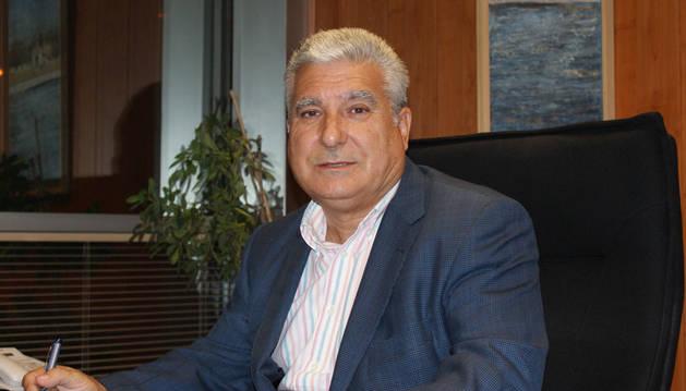 José Luis Moracho, presidente de Pavimentos Tudela
