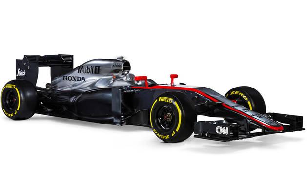 El nuevo McLaren de Fernando Alonso.