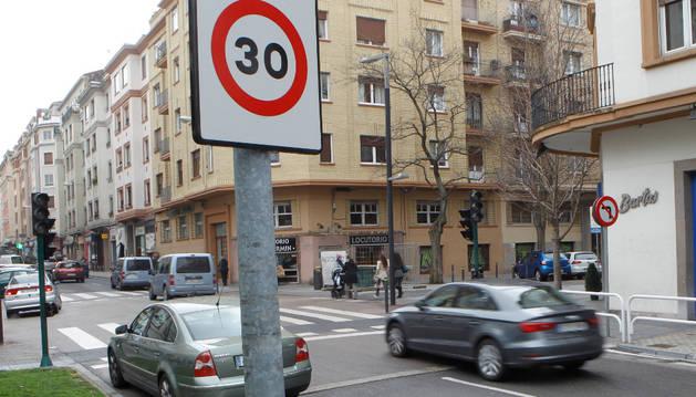Las señales que obligan a reducir la velocidad a 30 km/h.