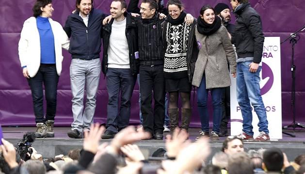 'Marcha del Cambio'  de Madrid al grito de