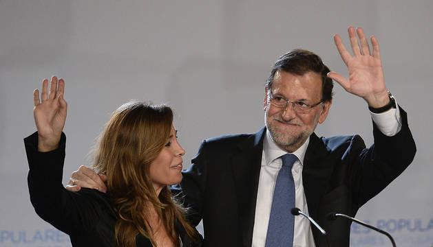 Rajoy ensalza la unidad en Cataluña ante la