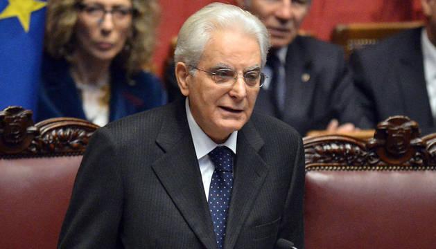 Sergio Mattarella jura su cargo como presidente de la República italiana