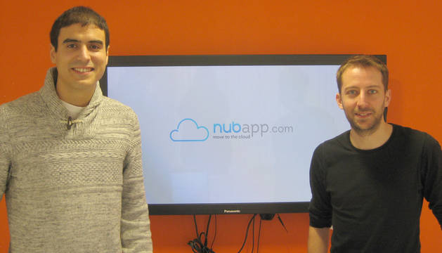 Víctor Acín y Sergio Fernández, fundadores de Nubapp