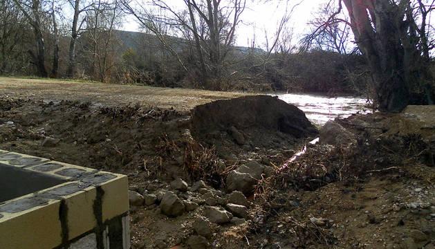 Andosilla cifra en 110.435 € los daños de las inundaciones