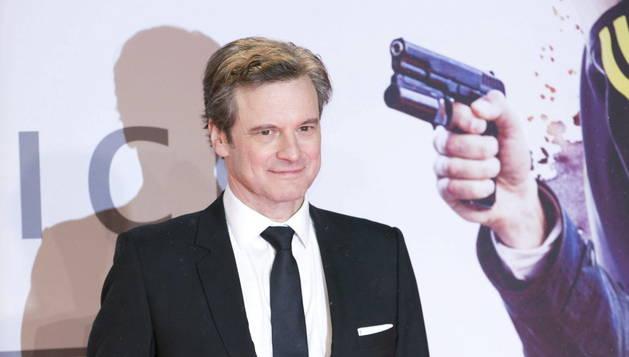 Colin Firth, en la presentación de la película