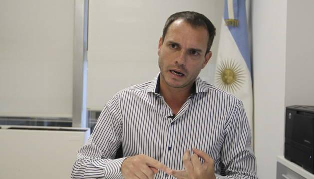 El diputado Fernando Sánchez