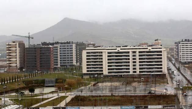 Los nuevos barrios de Lezkairu y Erripagaña ganan 1.300 vecinos en un año