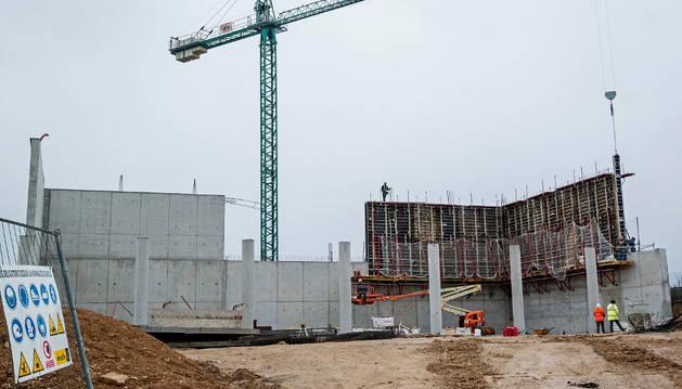 La recuperación de la construcción sigue, pero no llega al ritmo del PIB