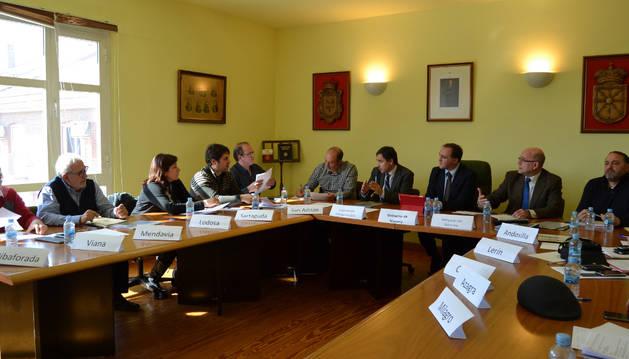 Reunión de los alcaldes de las zonas afectadas
