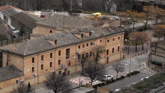 Edificio de la comisaría de la Policía Municipal de Tudela