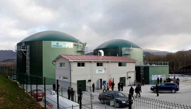 Detalle parcial de la planta de biogás