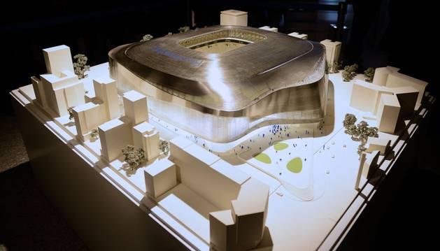 Imagen del nuevo Santiago Bernabéu
