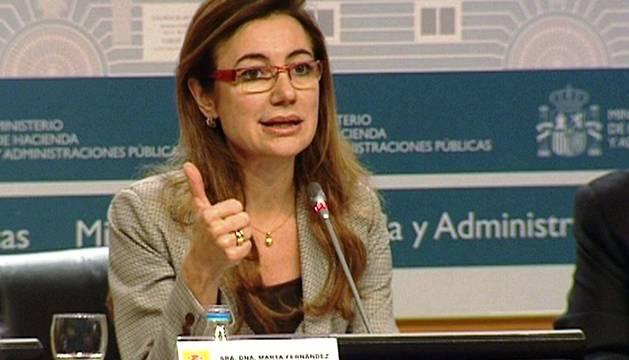 La secretaria de Estado de Presupuestos y Gastos, Marta Fernández Currás