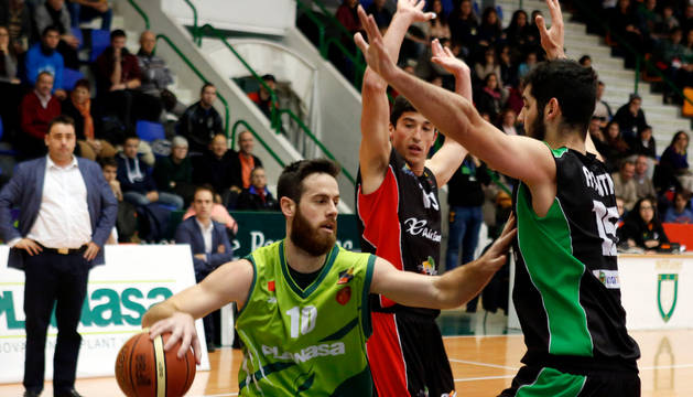Pablo Almazán, en un partido anterior