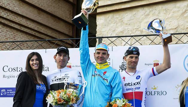 El estonio Taaramäe gana la Vuelta a Murcia