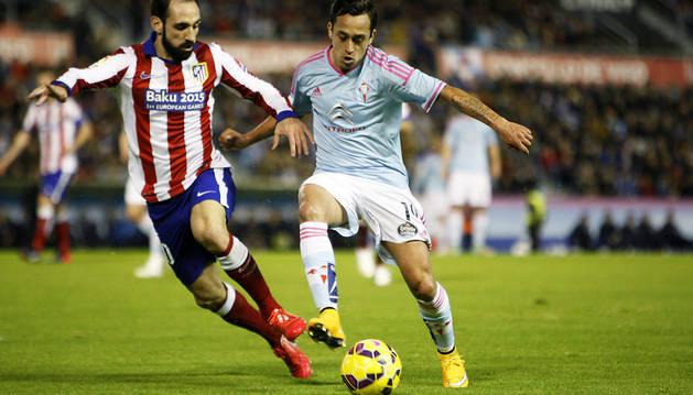 El Celta frena al Atlético de Madrid