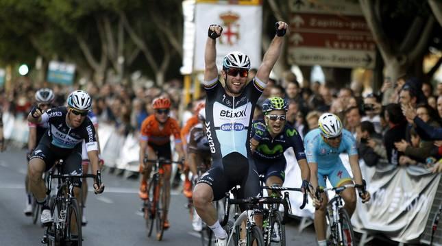 Mark Cavendish en Almería