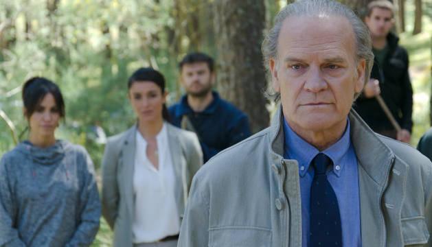 Lluis Homar, protagonista de 'Bajo sospecha'.