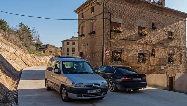 Uno de los objetivos del bulevar era aliviar la estrechez de paso de la calle Lizarra.