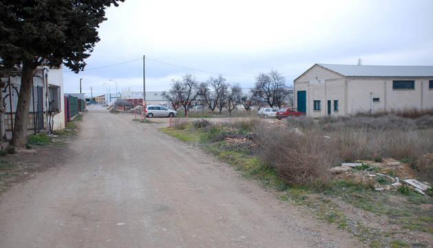 Imagen del polígono industrial Carretera del Villar.
