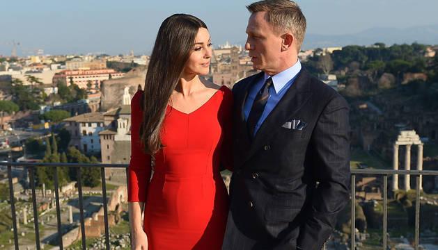Monica Bellucci y Daniel Craig