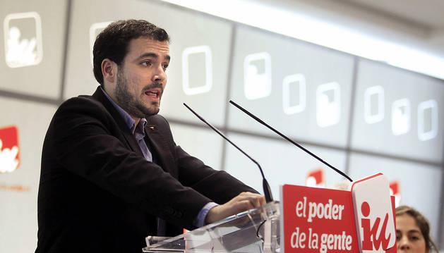 Alberto Garzón, próximo candidato de IU en las elecciones generales.