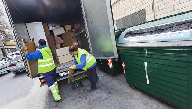Retirar los residuos voluminosos costará 25 millones en diez años
