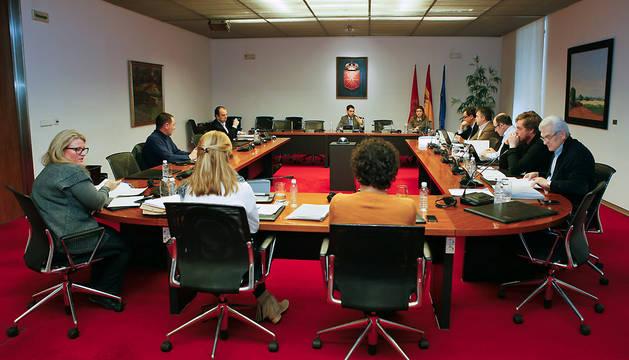 Reunión de la comisión de investigación sobre Caja Navarra