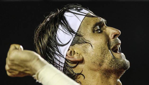 El tenista David Ferrer gana el torneo ATP de Río de Janeiro