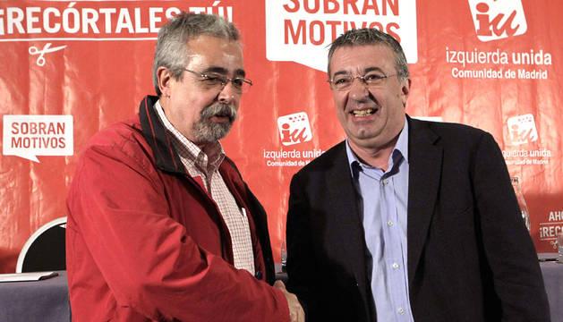 Gregorio Gordo (dcha) y Ángel Pérez, en una imagen de archivo.