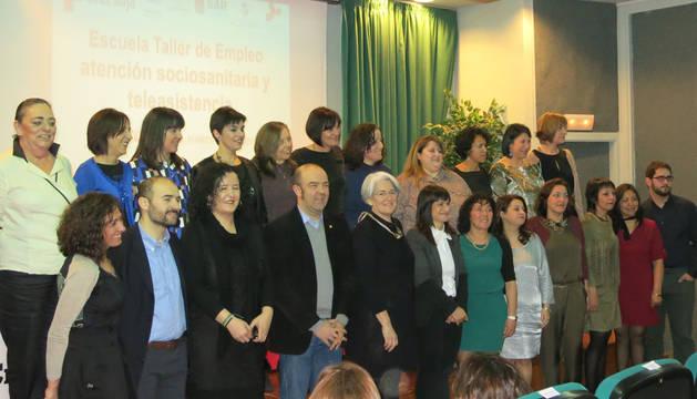 15 mujeres finalizan en Cintruénigo su formación en atención sociosanitaria