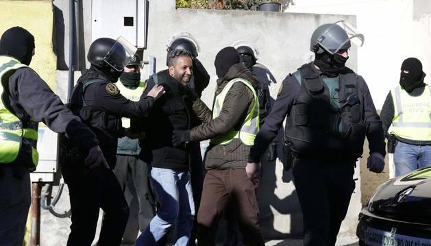 Cuatro detenidos en una operación contra una red de captación yihadista