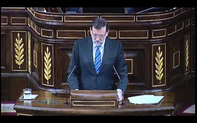 Rajoy saca pecho por no haber solicitado el rescate