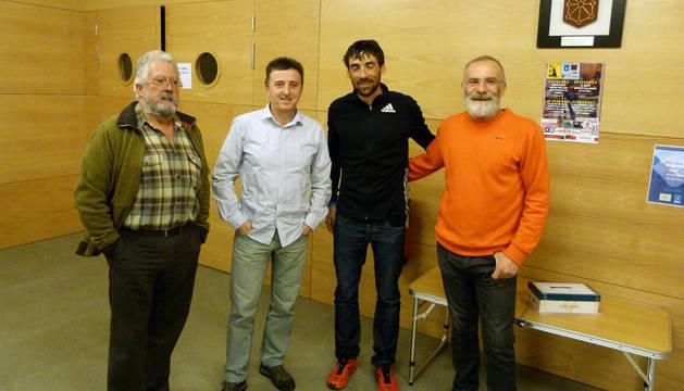 Charla de Luis Alberto Hernando, campeón del mundo de ultra trail