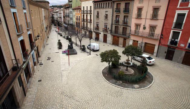 La transformación de la plaza Mercadal