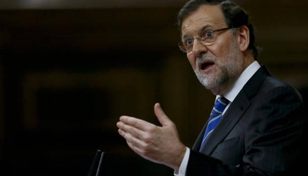 Rajoy, en el Debate del estado de la Nación