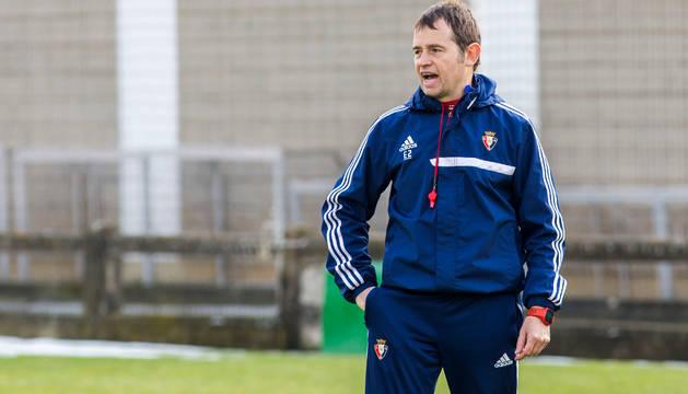 Kibu Vicuña, segundo entrenador de Osasuna