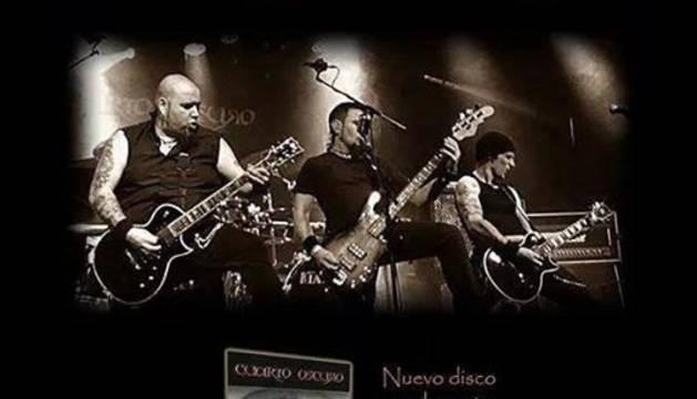Cartel del concierto de El cuarto oscuro