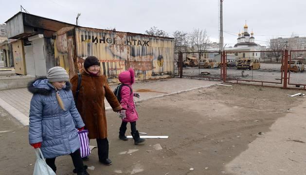 En Mariupol