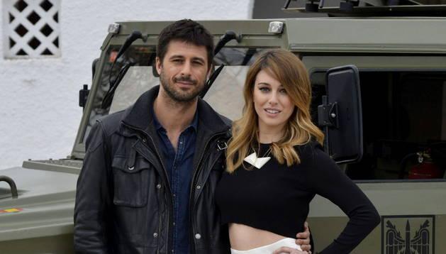 Hugo Silva y Blanca Suárez, protagonistas de 'Los nuestros'