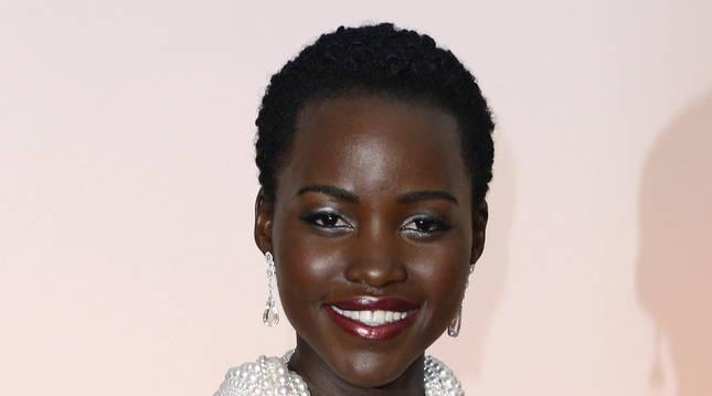 Lupita Nyong'o, en la gala de los Oscar